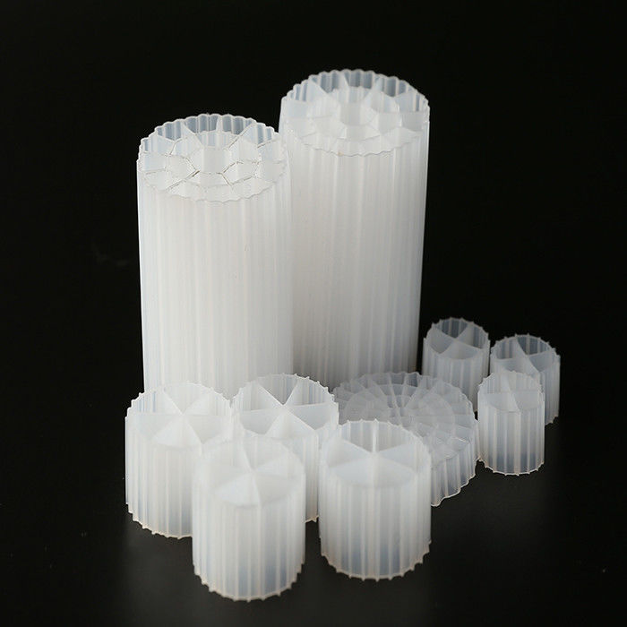 White Color And HDPE Material K1 Filter Media Shock Resistance And Good Surface Area